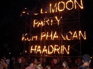 Full Moon Party - Image: Full moon party haadrin