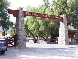Ingang Furnace Creek Ranch