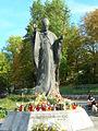 Góra św. Anny. Pomnik Jana Pawła II.JPG