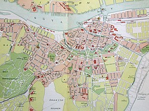 packhuskajen göteborg karta Göteborgs historia – Wikipedia packhuskajen göteborg karta