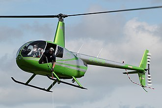Robinson R44 - An R44 in a hover