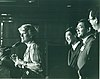 Geraldine Ferraro, with Bob Matsui, Norman Mineta and Tom Hsieh