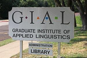 Graduate Institute of Applied Linguistics - Image: GIAL