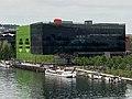 GL events siège social Confluence de Lyon avril 2021 depuis la rive droite de la Saône.jpg