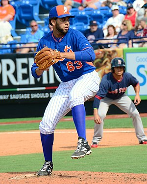 Gabriel Ynoa - Ynoa with the Mets in 2015 Spring Training