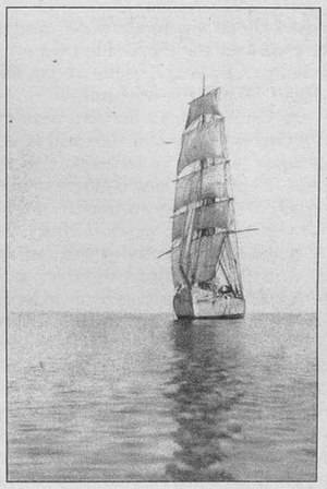 Galilee (ship) - The Galilee under sail while chartered to the Department of Terrestrial Magnetism