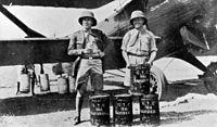 Gallarza and Loriga (on the right) in a layover in Rangun..jpg