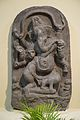 Ganesha - Black Stone - Circa 11th Century CE - Giriyak - Bihar - ACCN 3921 - Indian Museum - Kolkata 2015-09-26 3909.JPG