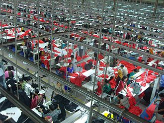 Garments factory in Bangladesh Garments Factory in Bangladesh.JPG