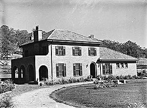The Garran family house in Canberra, 22 Mugga Way, Red Hill.