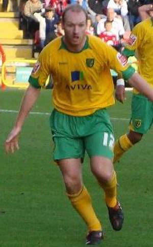 Gary Doherty - Doherty playing for Norwich City in 2008