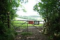 Gate on the bridleway - geograph.org.uk - 871223.jpg
