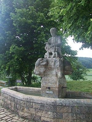 Zwiefalten - Gauingen fountain