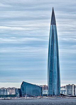 Gazprom tower (Lakhta Center) St Petersburg. Russia.jpg