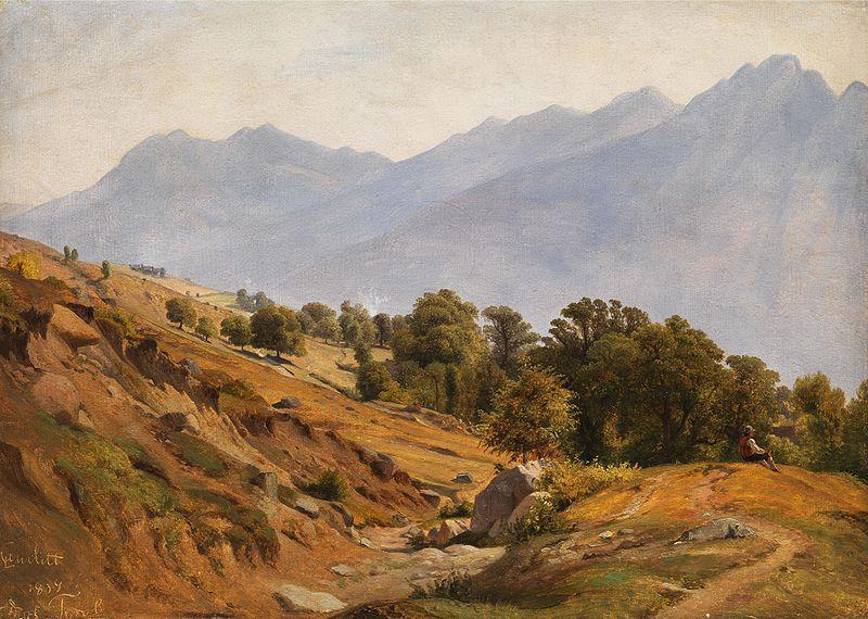 File:Gebirgslandschaft der Gegend von Dorf Tirol.jpg