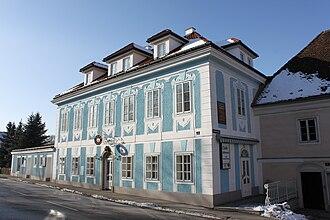Heinrich Lammasch - Lammasch's birthplace in Seitenstetten