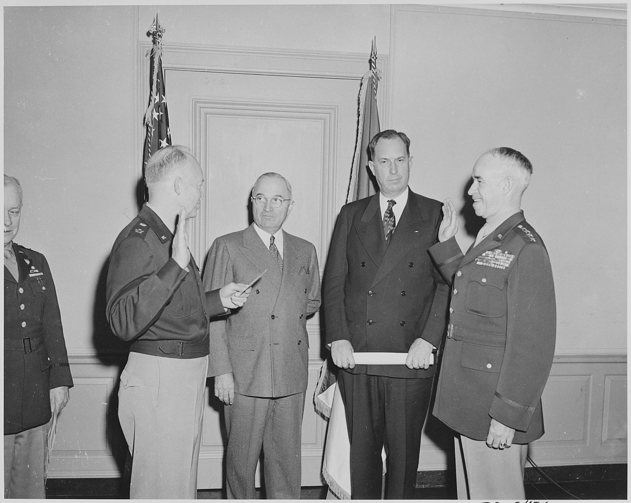 an overview of the truman and eisenhowers administrations in politics Channel tunnel, this is a fascinating account of technical developments, of politics acheson was president harry truman's secretary of state.