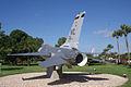 General Dynamics F-16A Fighting Falcon 81-0721 Block 15 LRear MacDill Air Park 24July2010 (14630155782).jpg