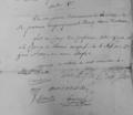 General Hopes Unterschrift unter dem Friedensvertrag von Kairo vom 28. Juni 1801.png