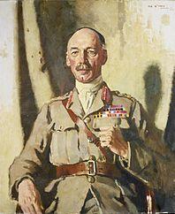 General Sir Henry Seymour Rawlinson, Bart, Gcvo, Kcb, Kcmg. Painted at Headquarters, Fourth Army, 1918 Art.IWMART3047.jpg