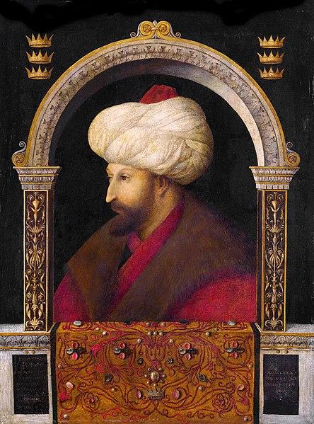 BELLINI, Gentile Sultan Mehmed II, 1480