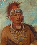 George Catlin - Neu-mon-ya, Walking Rain, War Chief - 1985.66.518 - Smithsonian American Art Museum.jpg