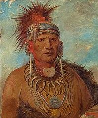 Neu-mon-ya, Walking Rain, War Chief