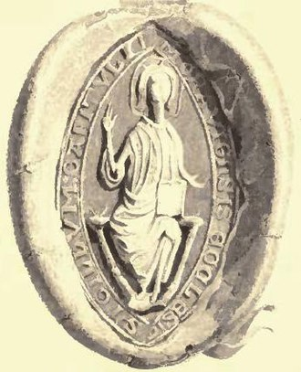 George Douglas (bishop) - Bishop George Douglas' seal.