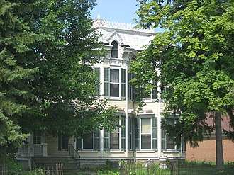National Register of Historic Places listings in Fulton County, Ohio - Image: George S. Clement House