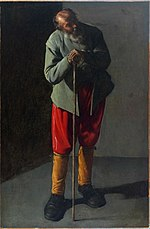Georges de La Tour. The Old Man.JPG