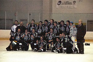 Georgetown Hoyas - The Georgetown ice hockey club team has won the ACCHL championship four times.