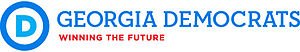Democratic Party of Georgia - Image: Georgia Democratic Party logo