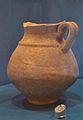 Gerra bitroncocònica de ceràmica comuna ibèrica, museu de la Ciutat d'Alacant.JPG