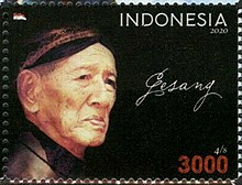 Gesang Martohartono 2020 stamp of Indonesia.jpg
