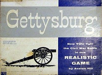 Gettysburg (game) - Gettysburg box cover