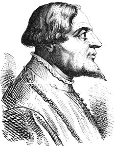 Gian Galeazzo Visconti in un'incisione