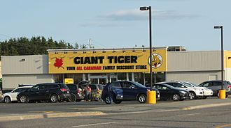 Giant Tiger - A Giant Tiger store in Espanola, Ontario.
