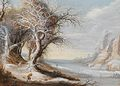 Gijsbrecht Leytens - A winter landscape with woodcutter.jpg