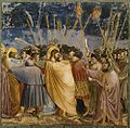 Giotto di Bondone - No. 31 Scenes from the Life of Christ - 15. The Arrest of Christ (Kiss of Judas) - WGA09216.jpg