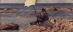 Silvestro Lega - Silvestro Lega Painting (1866–67) by Giovanni Fattori