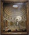 Giovanni paolo pannini, interno del pantheon, roma, 1747.jpg
