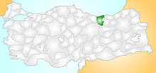 Giresun Turkey Provinces locator.jpg