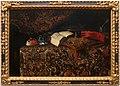 Giuseppe recco, natura morta con maschere, libri e strumenti musicalio, 1655-90 ca. 01.jpg