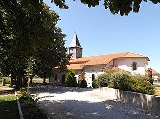 Malaussanne - The church of Malaussane