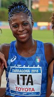 Gloria Hooper (athlete) Italian sprinter