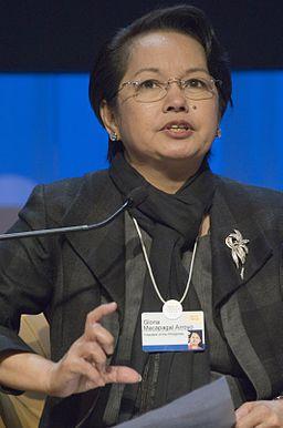 Gloria Macapagal-Arroyo, Davos