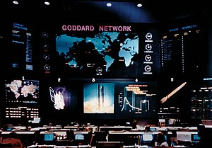 Goddard Space Flight Center - The Goddard network (STDN) tracked many early manned and unmanned spacecraft.