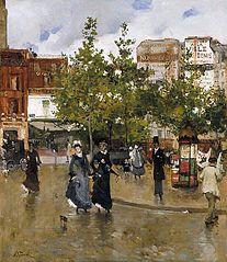 Elegant Women, Place Clichy
