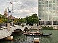 Gondola on the Providence River in Providence, Rhode Island.jpg