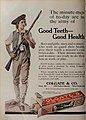 Good Teeth Good Health, Colgate's Ribbon Dental Cream, 1913.jpg